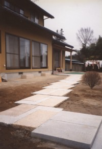 住宅の通路2